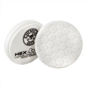Hex-Logic BUFX_104HEX5 - Hex-Logic Light-Medium Polishing Pad, White (5.5 Inch)
