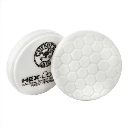 Hex-Logic BUFX_104HEX6 - Hex-Logic Light-Medium Polishing Pad, White (6.5 Inch)