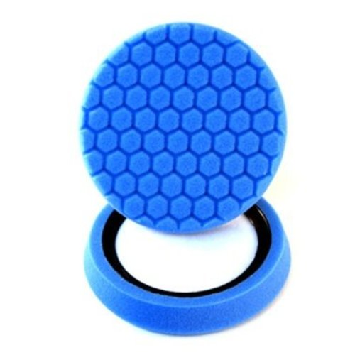 Hex-Logic BUFX_105HEX - Hex-Logic Light Polishing/Finishing Pad, Blue (7.5 Inch)