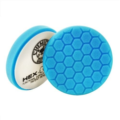 Hex-Logic BUFX_105HEX5 - Hex-Logic Light Polishing/Finishing Pad, Blue (5.5 Inch)