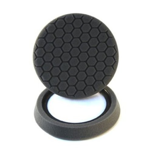 Hex-Logic BUFX_106HEX - Self-Centered Hex Logic Finishing Pad, Black (7.5 Inch)