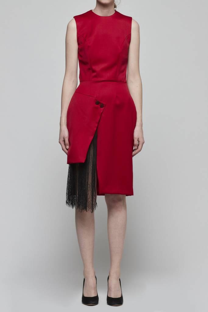 Faux Wrap Dress-1