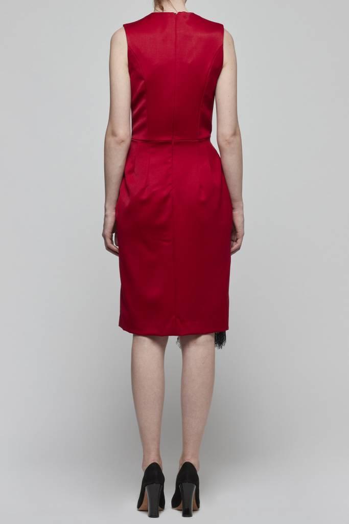 Faux Wrap Dress-2
