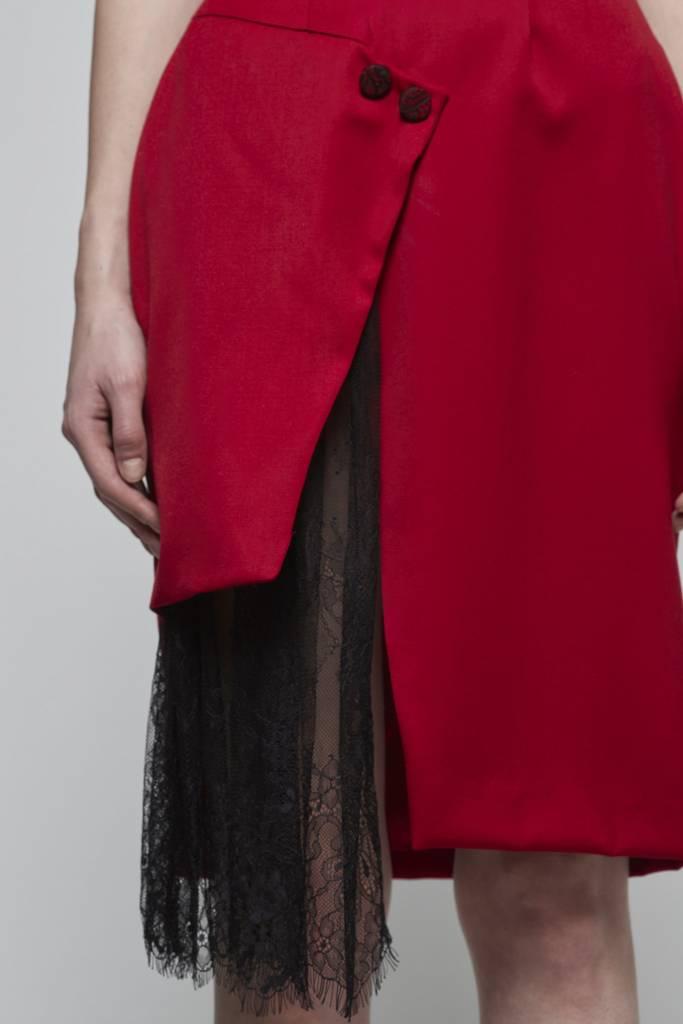 Faux Wrap Dress-3