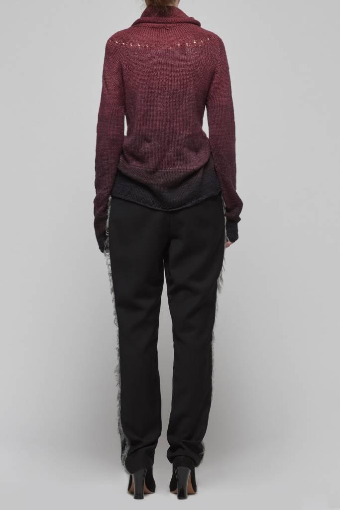 High Neck Handknitted Sweater-2