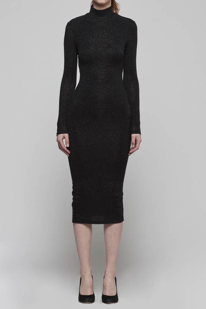 Sparkle Bodycon Midi Dress-1