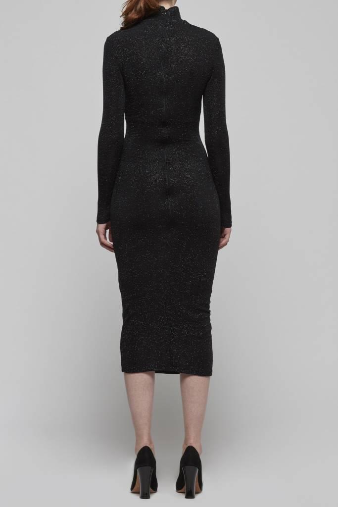 Sparkle Bodycon Midi Dress-2