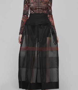 Horsehair High Waisted Skirt