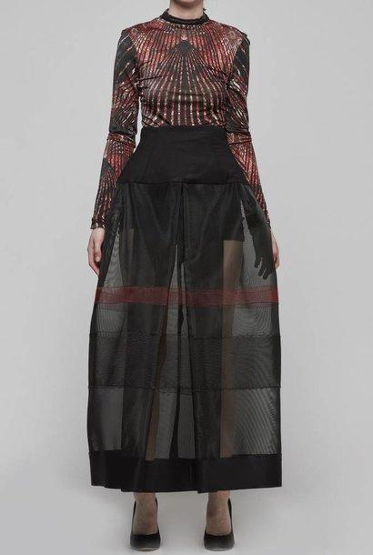 Horsehair High Waisted Skirt