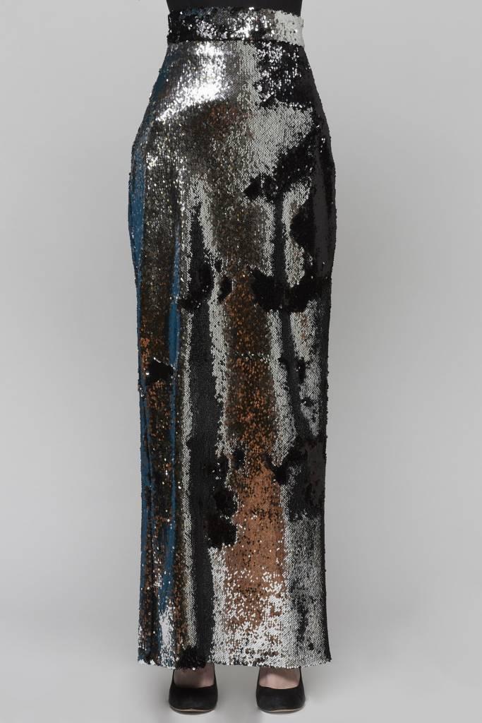 Flip Sequin Maxi Skirt-2
