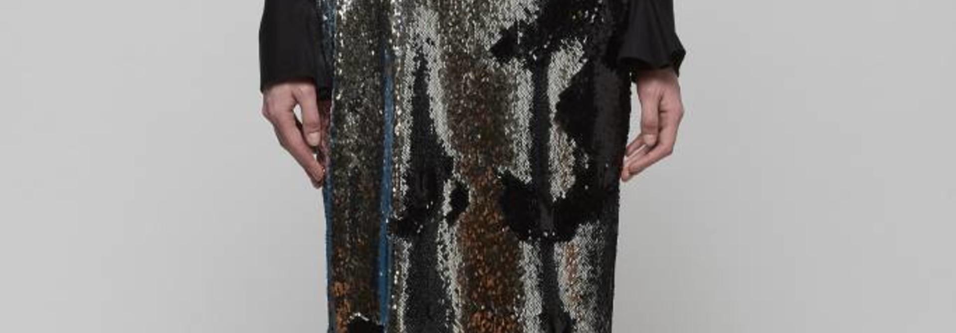 Flip Sequin Maxi Skirt