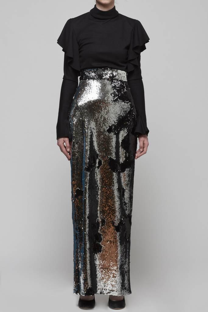 Flip Sequin Maxi Skirt-1