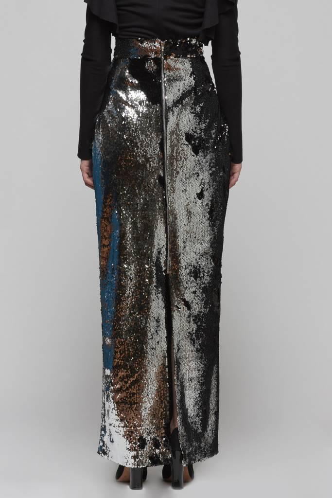 Flip Sequin Maxi Skirt-3