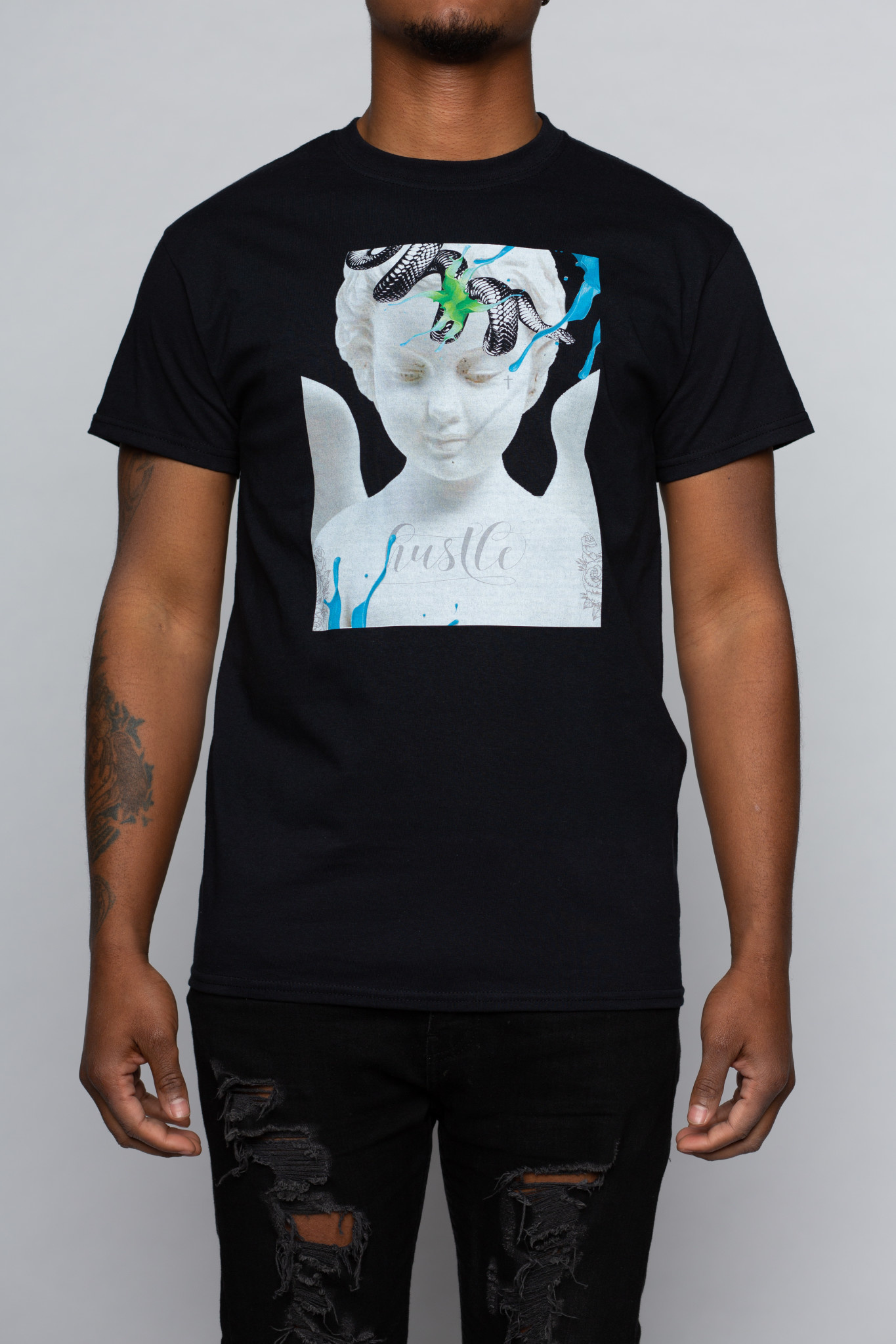 Modern Day Cupid Graphic Tee-1