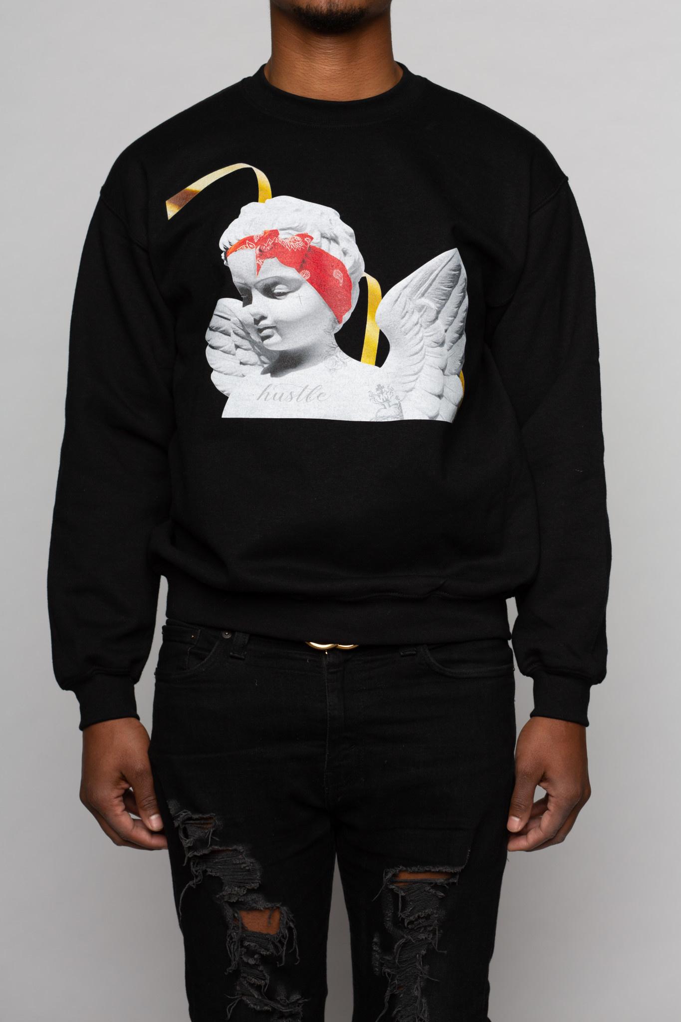 Cupid with Bandana Crew neck Sweater-1