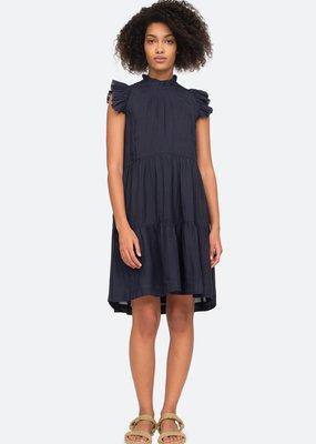 Sea NY Lucy Navy Tunic Dress