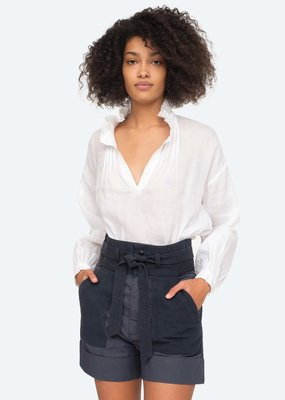 Sea NY Lucy White Blouse