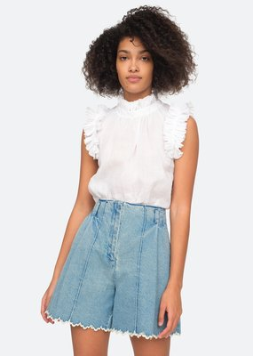 Sea NY White Lucy top
