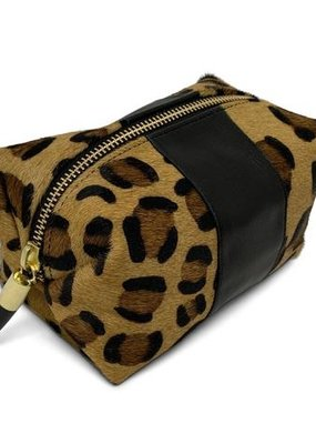 Kempton & Co Leopard Cosmetic Case