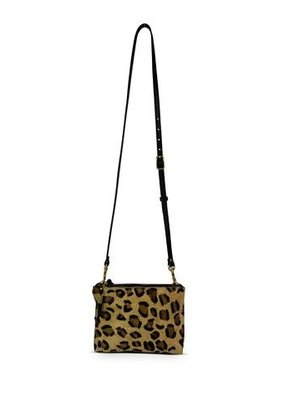 Kempton & Co Leopard Nottingham Crossbody