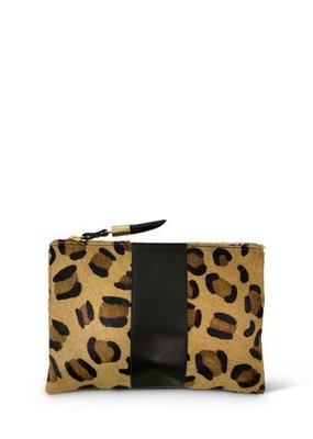 Kempton & Co Leopard Small Pouch