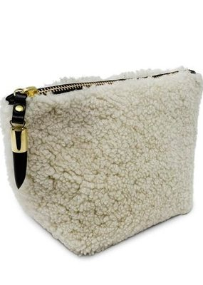 Kempton & Co Natural Shearling Pouch