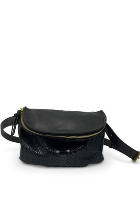 Kempton & Co Snakeskin Belt Bag