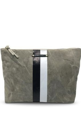 Kempton & Co BW Stripe Pouch