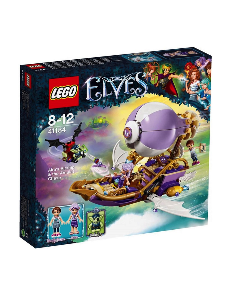 LEGO ELVES - 41184 AIRA'S AIRSHIP & THE AMULET CHASE