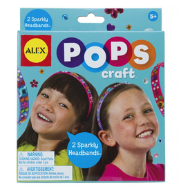 Alex Alex Pop Crafts - 2 Sparkly Headbands