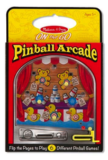 Melissa & Doug ON THE GO PINBALL ARCADE