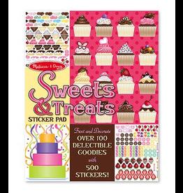 Melissa & Doug Sweets & Treats Stickers Pad
