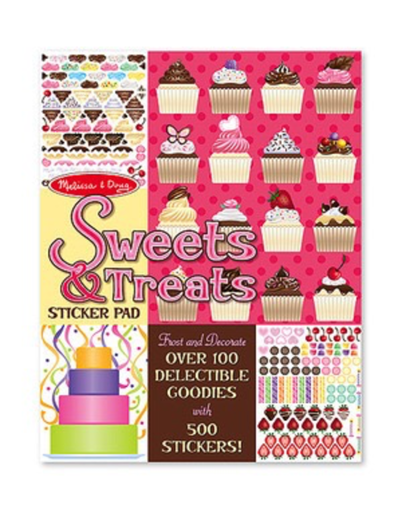 Melissa & Doug SWEETS  TREATS STICKER PAD