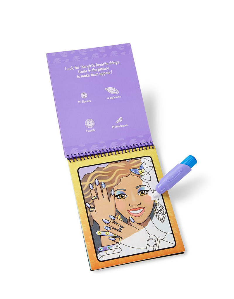 Melissa & Doug WATER WOW MAKEUP & MANICURES