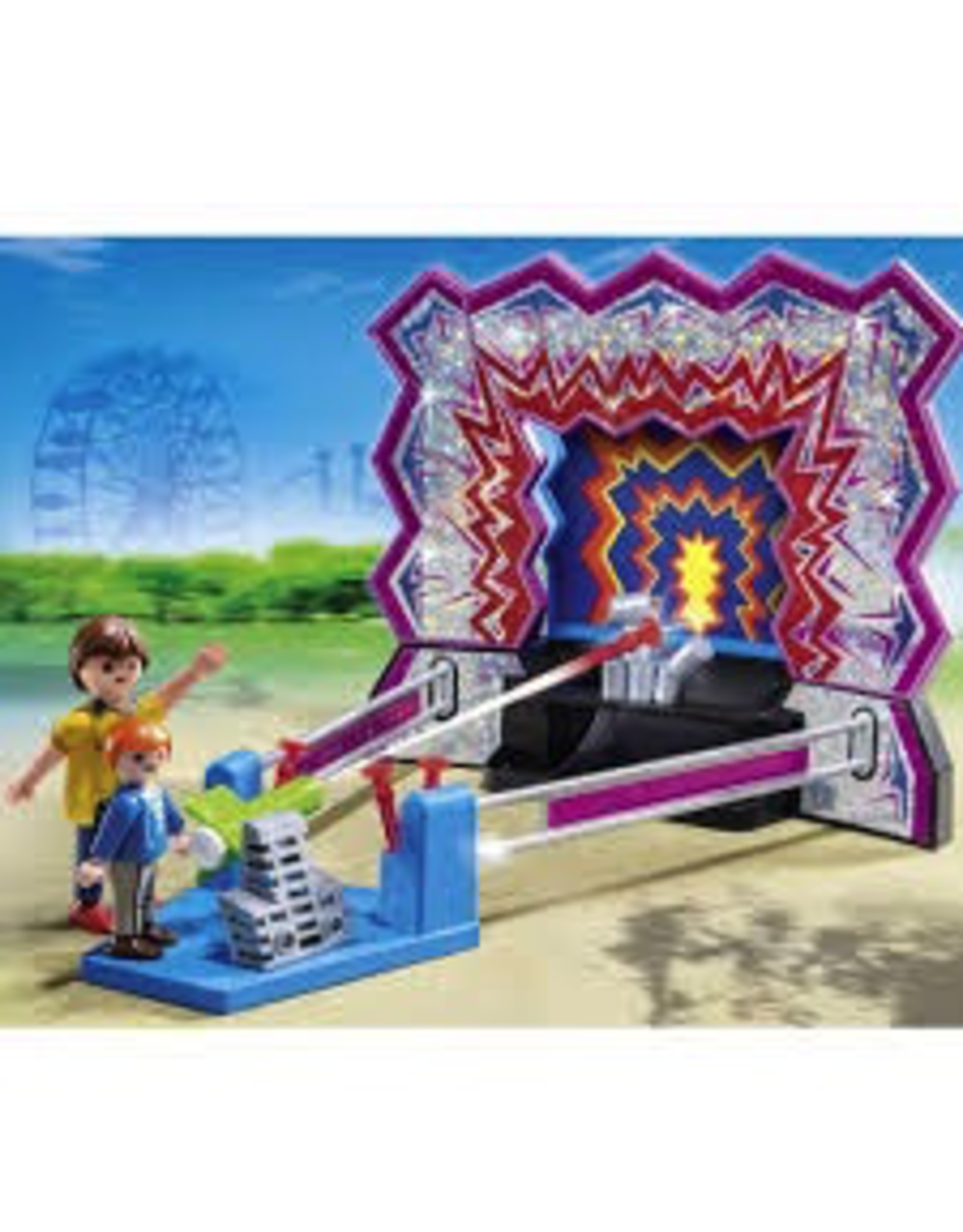 Playmobil 5547 TIN CAN SHOOTING GAME