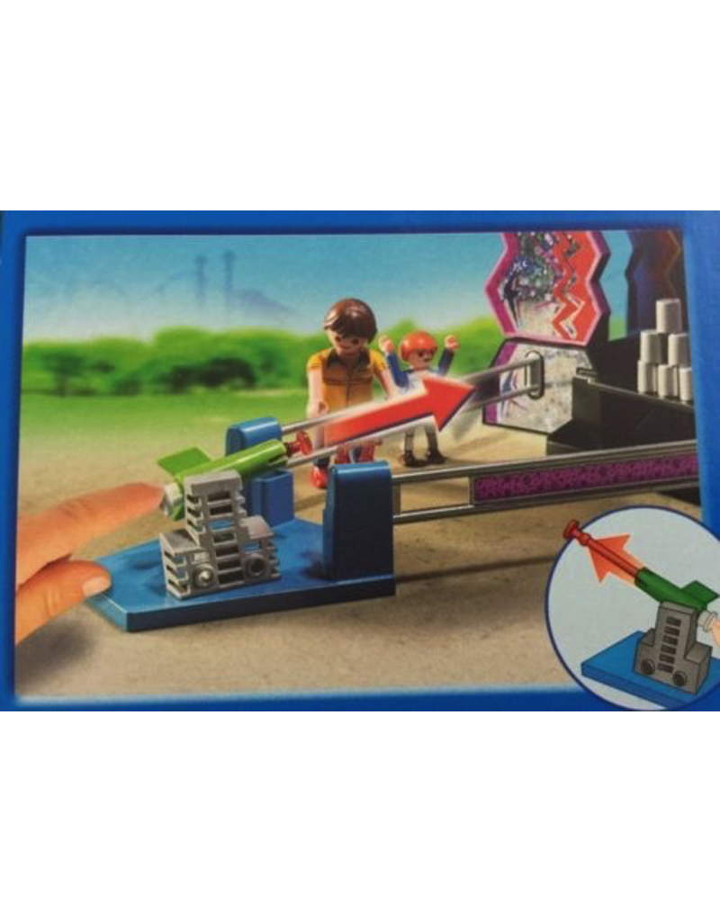 Playmobil 5547 TIN CAN SHOOTING GAME