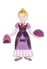 Melissa & Doug PRINCESS PUFFY STICKERS PLAYSET