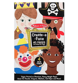 Melissa & Doug CREATE A FACE PAD