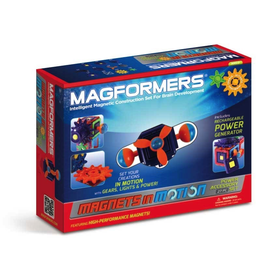 Magformers MAGFORMERS MAGNETS IN MOTION 27PC POWER GEAR ACCESSORY SET