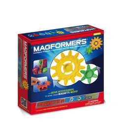 Magformers MAGFORMERS MAGNETS IN MOTION 20PC GEAR ACCESSORY PACK