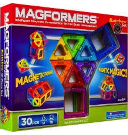 Magformers MAGFORMERS RAINBOW SET - 30 PC