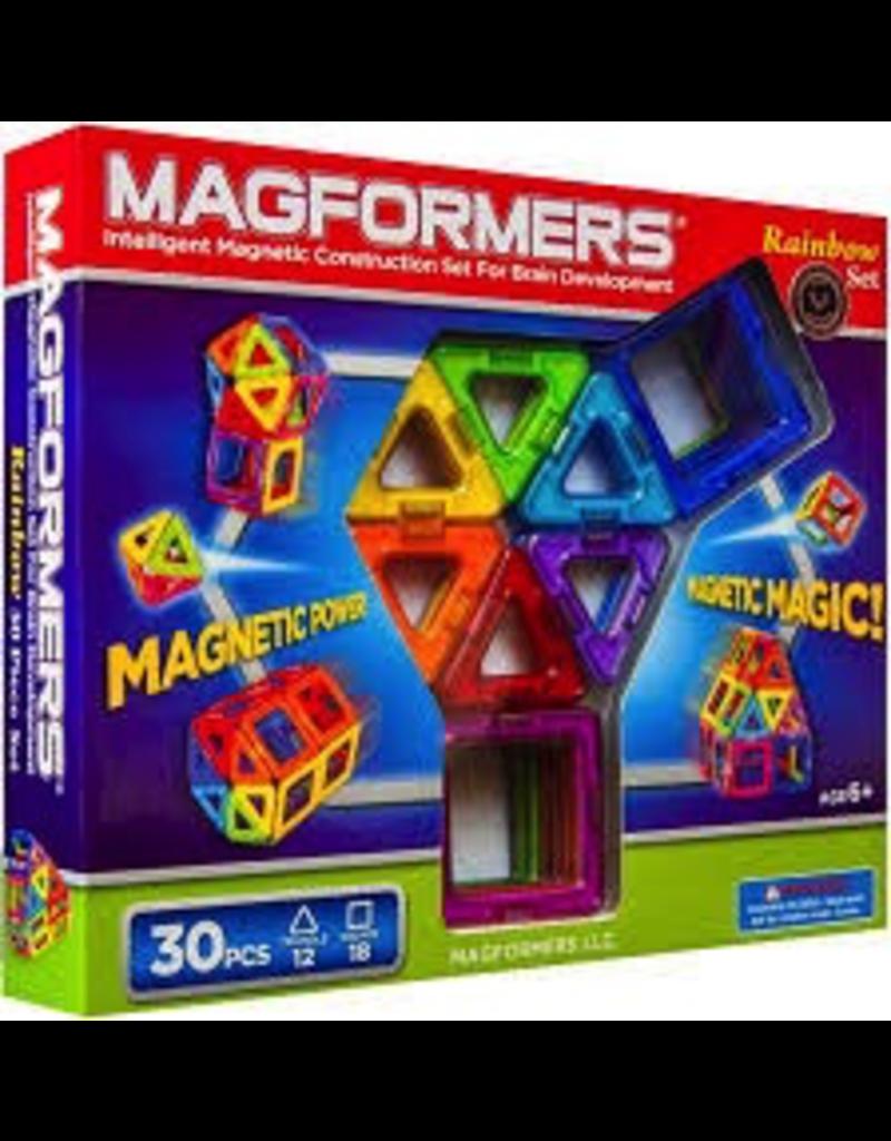Magformers MAGFORMERS - 30 PIECE RAINBOW