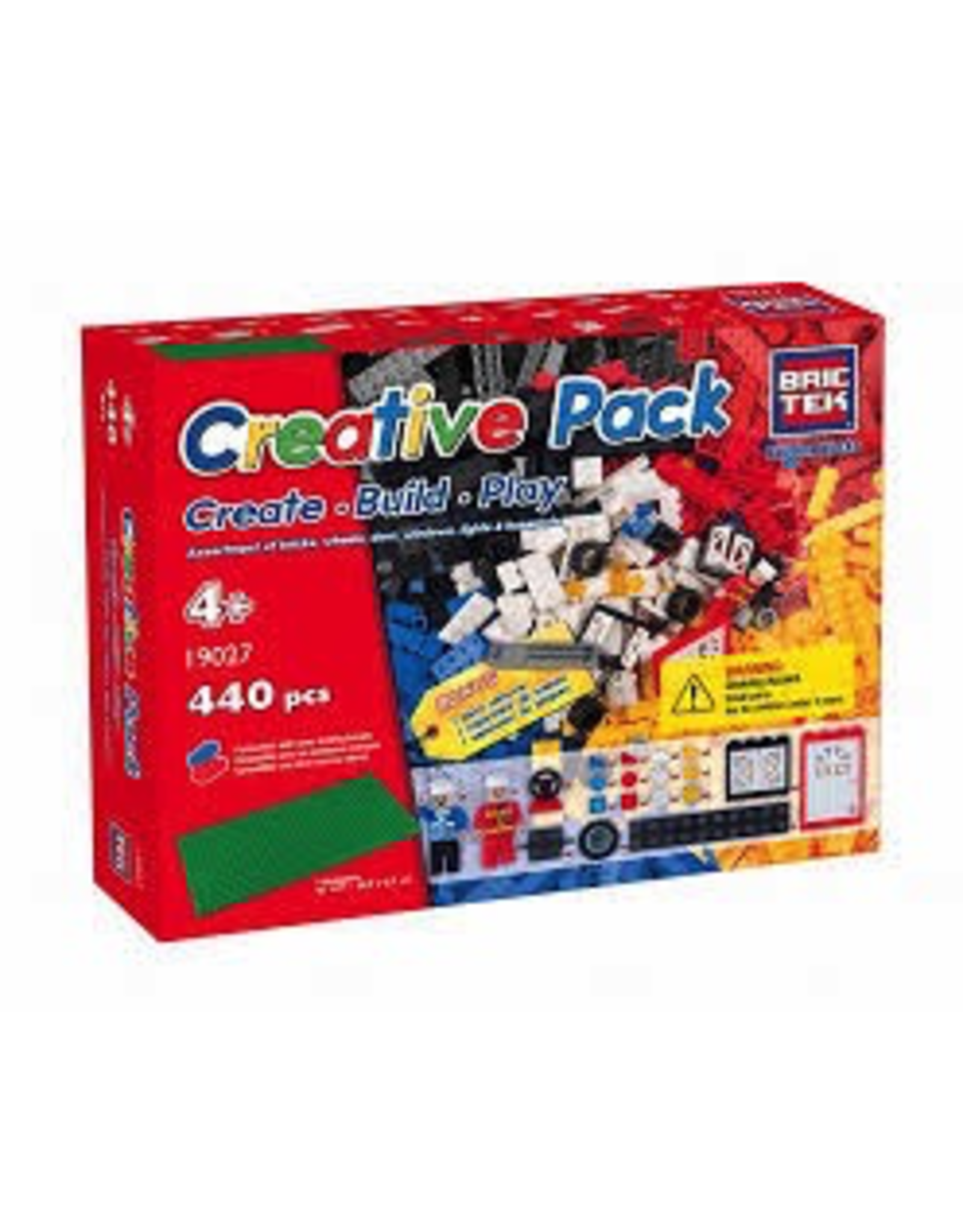 BRICTEK CREATIVE PACK 440 PCS
