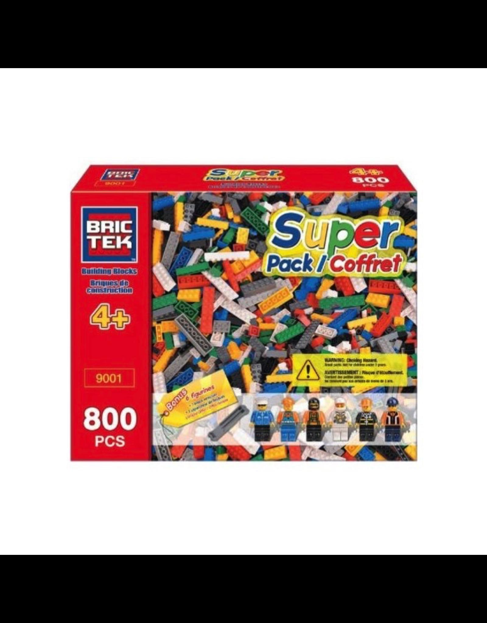 BRICTEK SUPER PACK 800 PCS