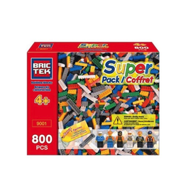BRICKTEK SUPER PACK 800 PCS