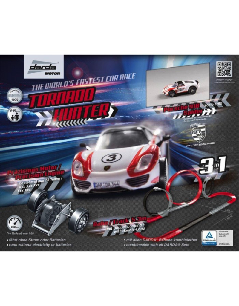 Darda motor TORNADO HUNTER RACE CAR SET