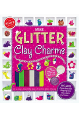 KLUTZ MAKE GLITTER CLAY CHARMS