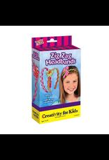 Creativity for Kids ZIG ZAG HEADBANDS MINI KIT