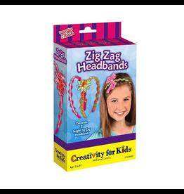 Creativity for Kids Zig Zag Headbands