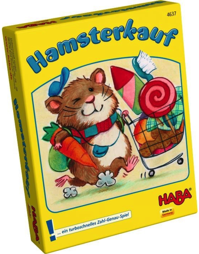 HABA HAMSTER SHOPPING